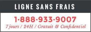 Ligne sans frais : 1-888-933-9007